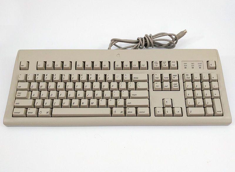 Genuine Apple Macintosh M2980 Appledesign Keyboard Vintage 1994 96 Adb Apple Apple Macintosh Keyboard Macintosh
