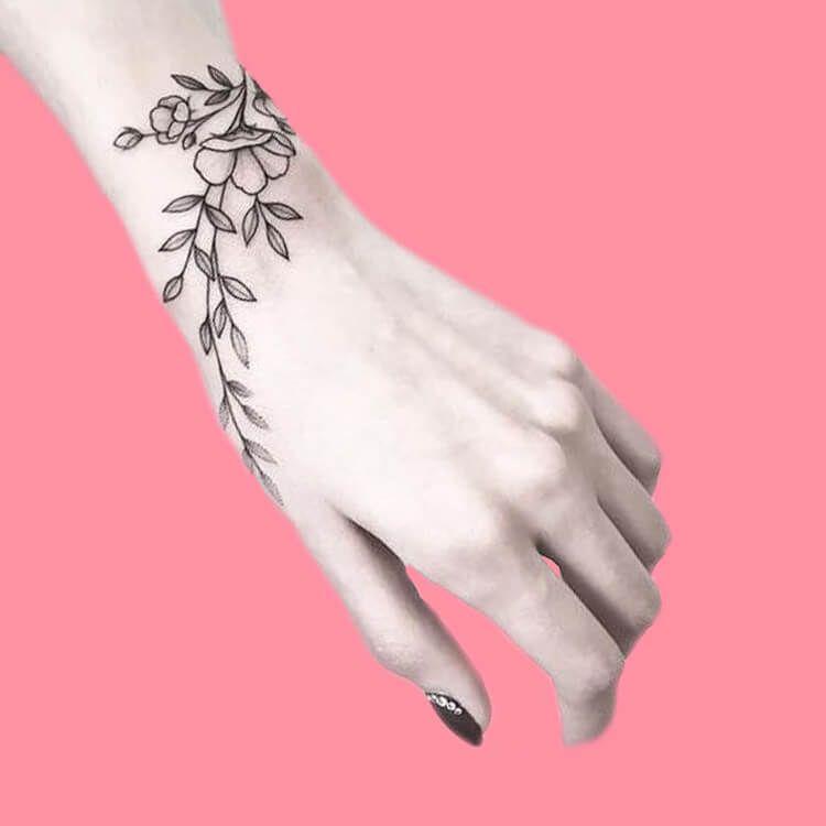 42 Mini Wrist Tattoo Designs To Try In This Summer Showmybeauty Wrap Around Wrist Tattoos Wrist Tattoos For Women Wrap Around Tattoo