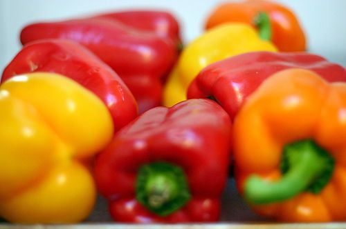 Pickled Garlicky Red Peppers Stuffed Peppers Pickled Bell Peppers Recipe Green Pepper Recipes