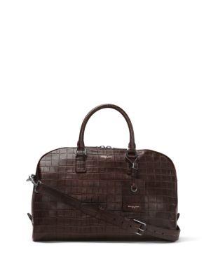 52467dbc0f96 MICHAEL KORS Bryant Medium Embossed-Leather Duffel Bag. #michaelkors #bags  #shoulder bags #hand bags #leather #