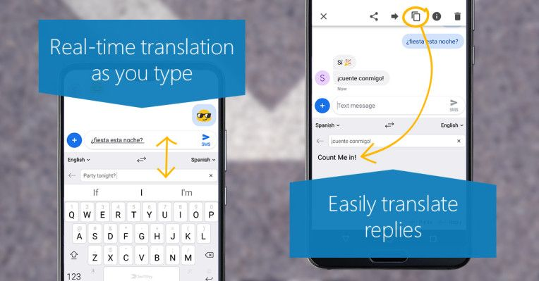 SwiftKey on Android now has twoway translation baked in