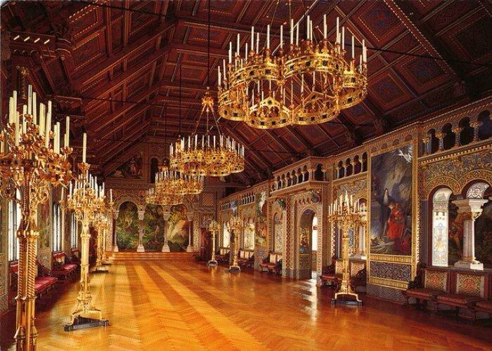 Neuschwanstein Castle Neuschwanstein Castle Castles Interior Germany Castles