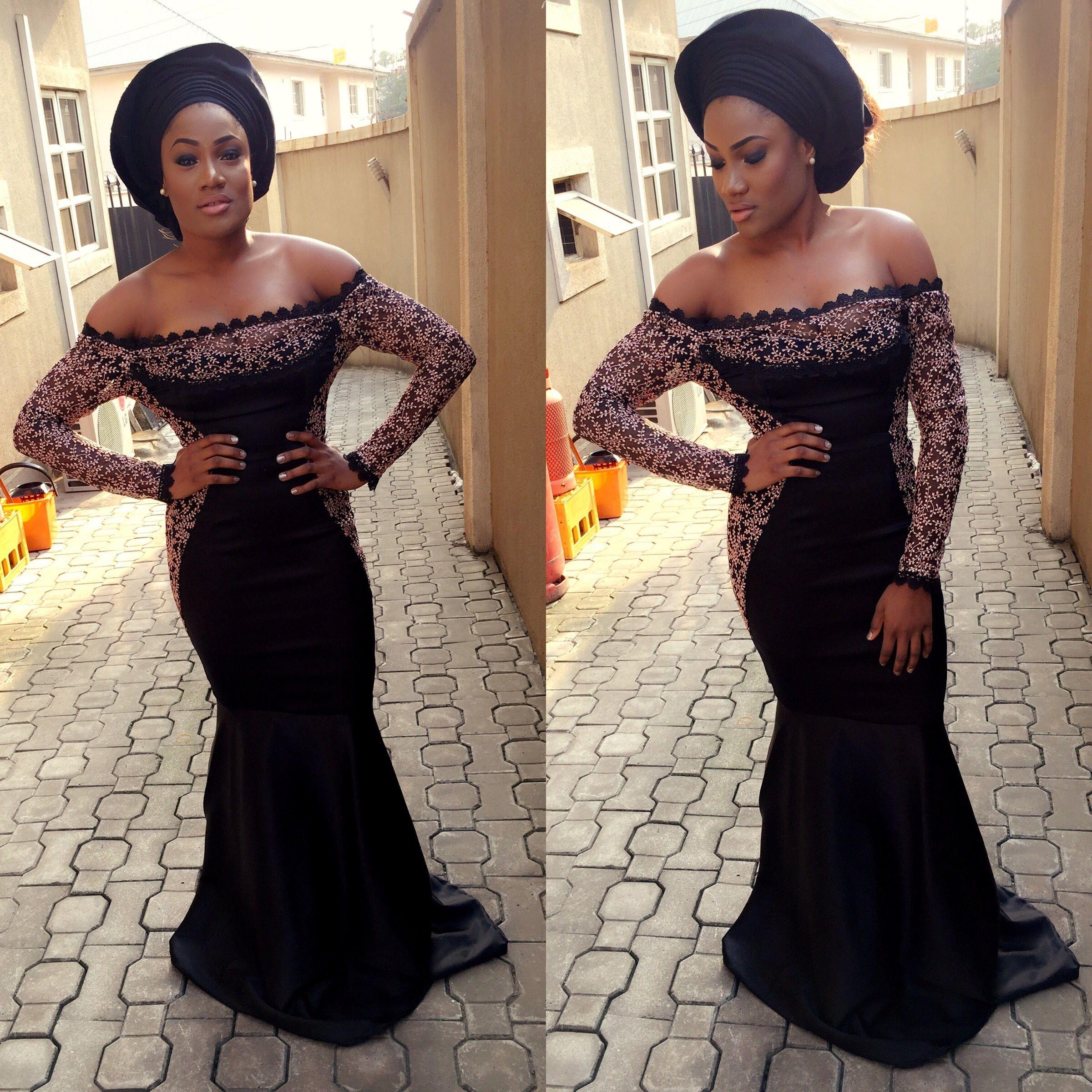 2017 05 aso ebi fashion styles nigeria wedding event fashion - Fashion Top Monotone Aso Ebi