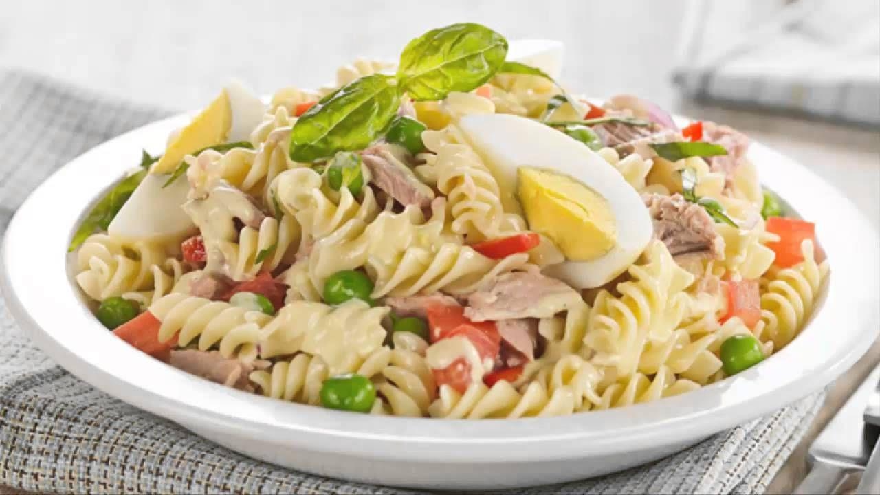 almuerzos saludables recetas  Buscar con Google  Almuerzos Livianos  Ensalada de Pasta Pasta con atun y Ensaladas