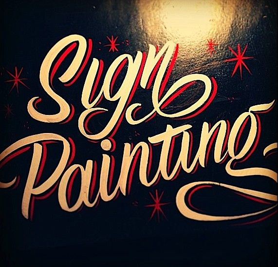 Hand Painted Signs By Caetano Calomino Sign Painting Lettering Hand Painted Signs Painted Signs