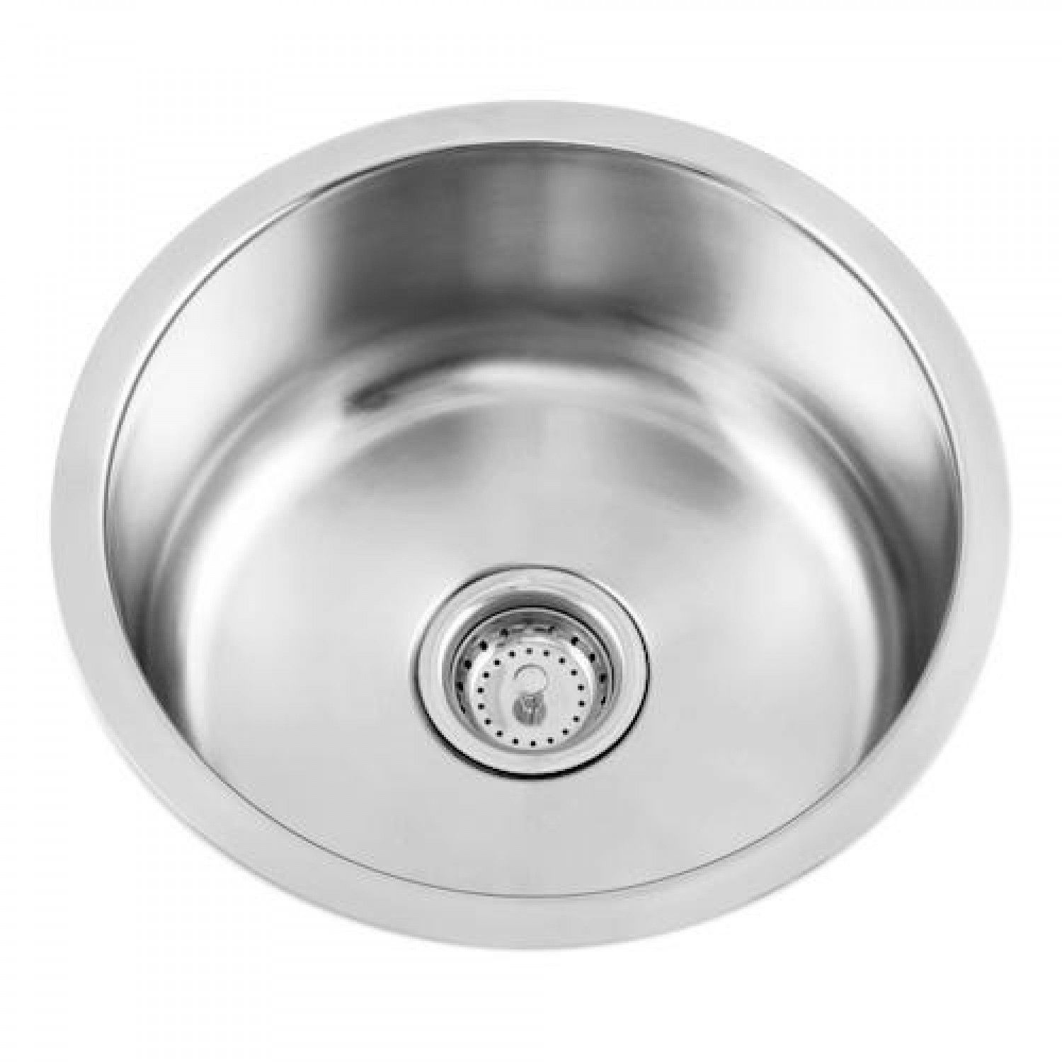 Beau Round Stainless Steel Undermount Bar Sink