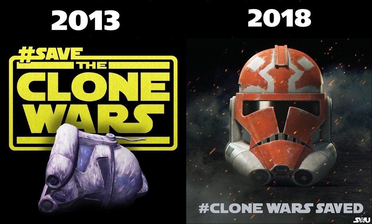 Clonewarssaved Hashtag On Twitter Star Wars History Star Wars Memes Star Wars Clone Wars