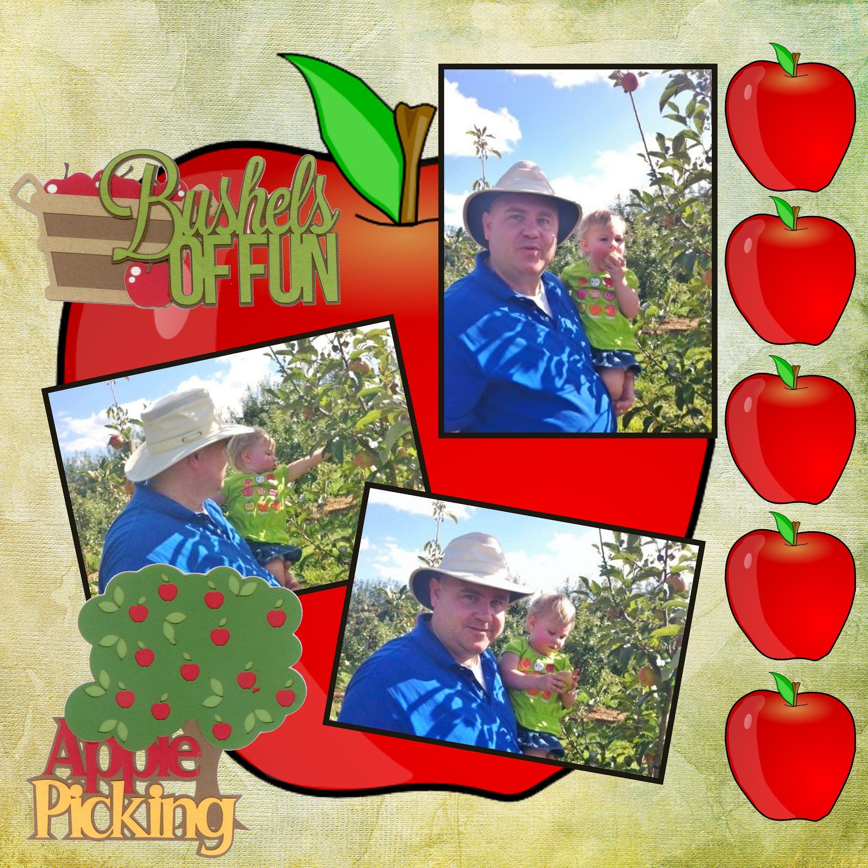 Picking Apples - Page 87 Volume Challenge - Scrapbook.com