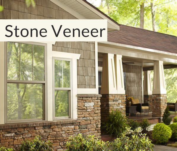 Stone Veneer General Siding Supply 1709 Mason Street Omaha Ne With Images Stone Veneer Exterior Brick House Exterior