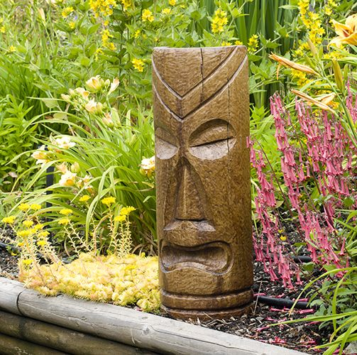 Etonnant Polynesian Tiki Mask   Large | Statuary | Yard Decor Store J Penner