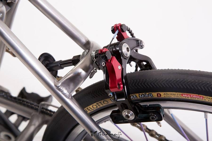 Stockholm Small Wheels Brompton Bicycle Garage Folding Bike