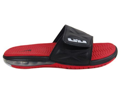on sale fc86e 70e3f Nike Lebron Slide 2 Black Red - Price    0.00 View Available Sizes