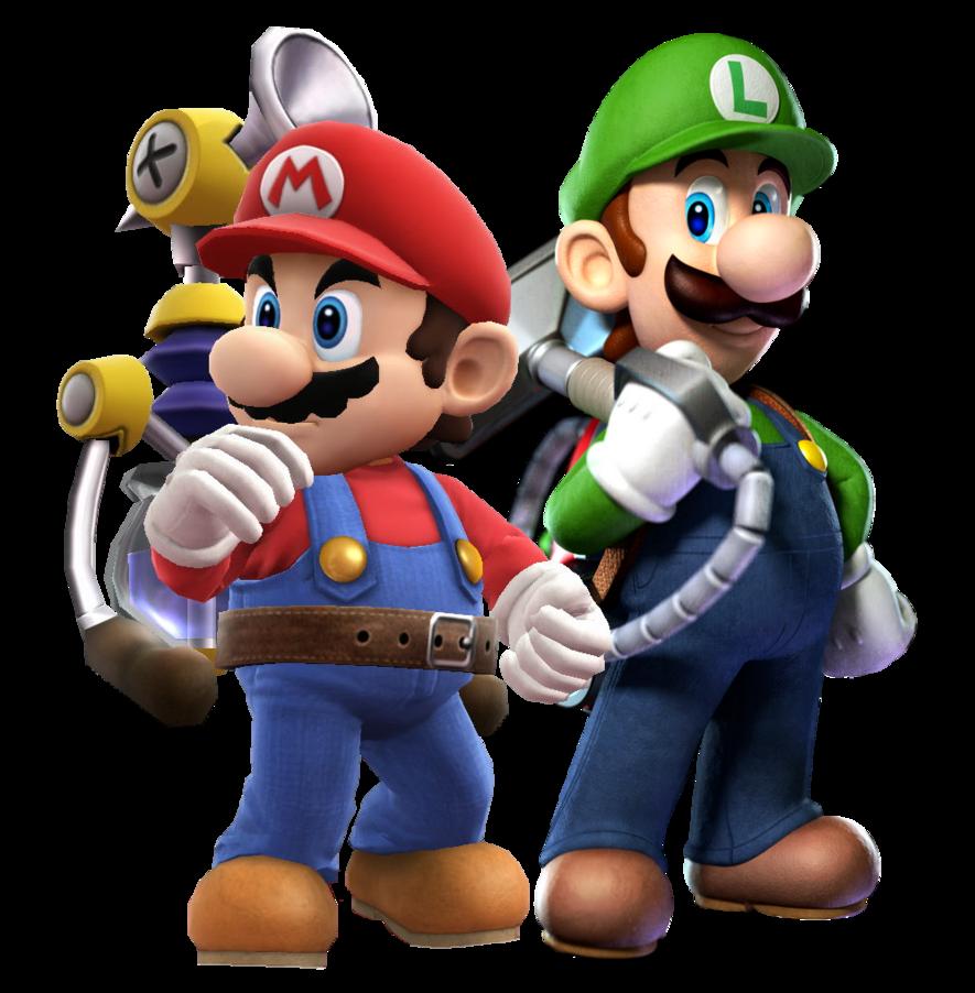 Sunshine And Mansion Super Mario Bros Nintendo Super Mario Sunshine Mario And Luigi