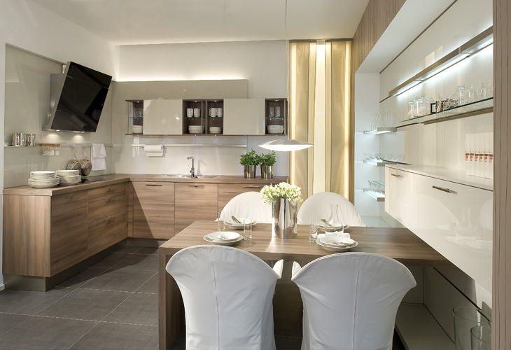 Wohnküche | Kitchen design small, Kitchen design, Galley ...