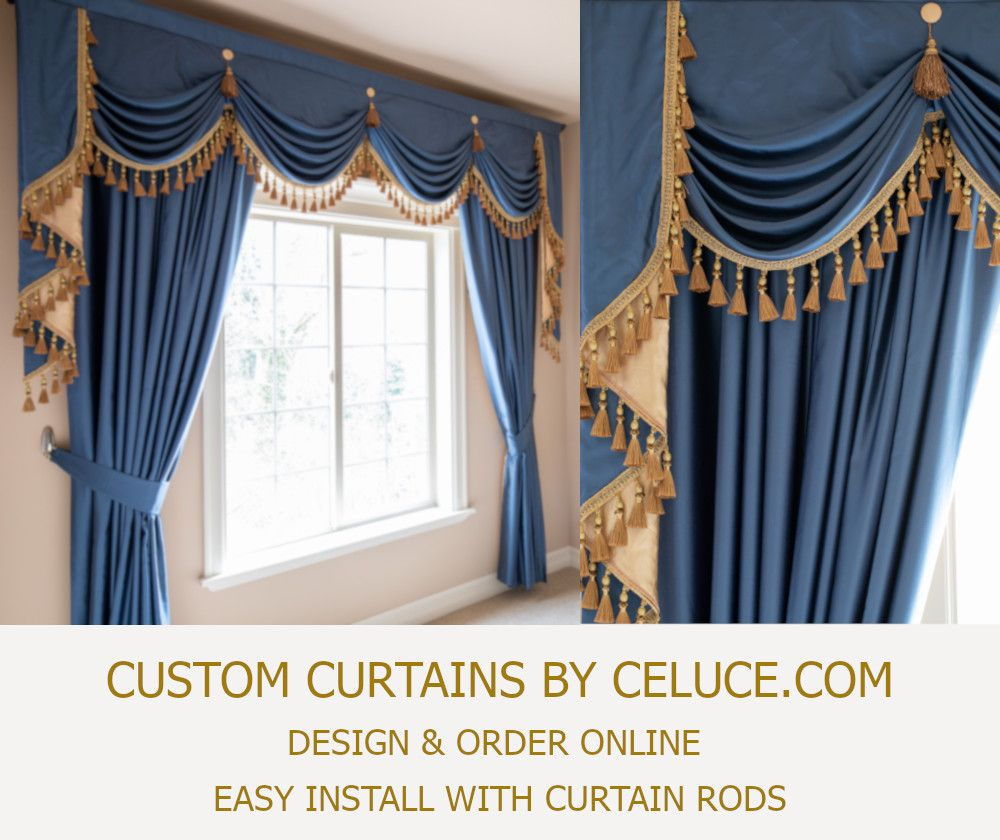Design Order Custom Curtains Online Easy Diy Install With Any