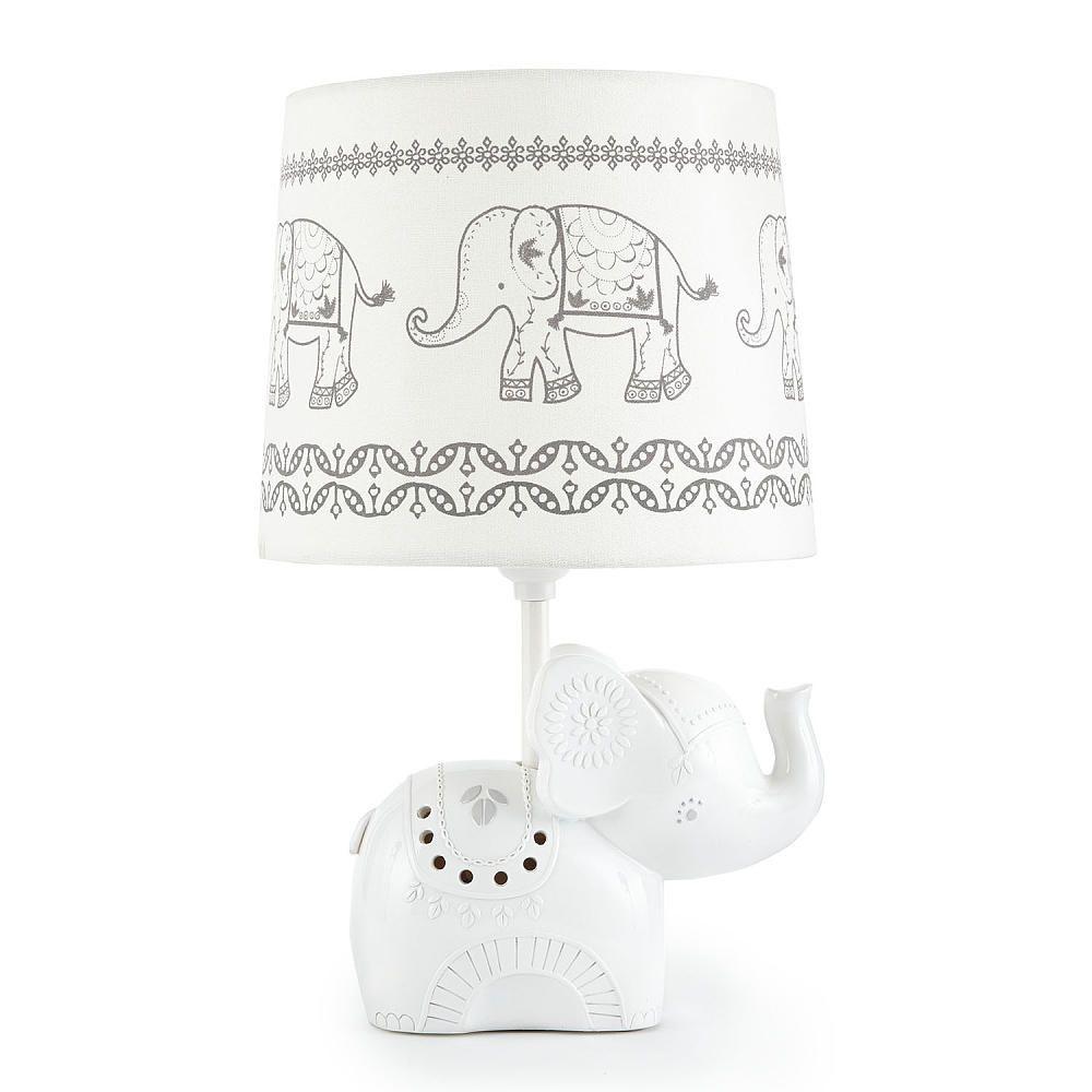 Levtex Baby Ely Elephant Lamp Base And Shade