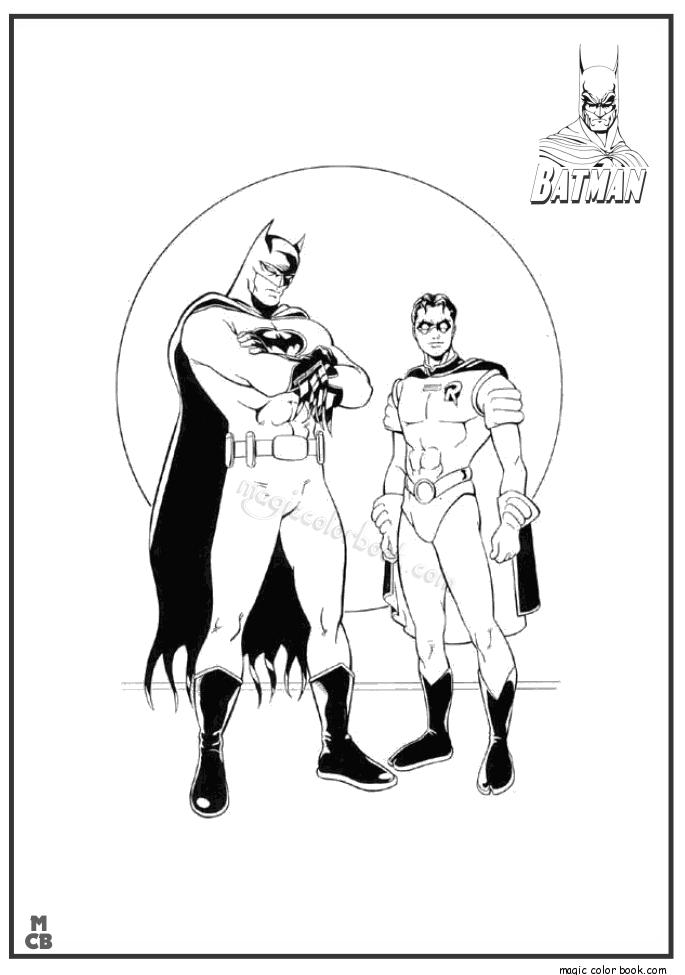 Pin by Magic Color Book on Batman Coloring Pages   Pinterest   Batman