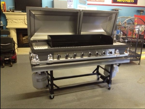 Coffin BBQ grill listing on craigslist   Strange but