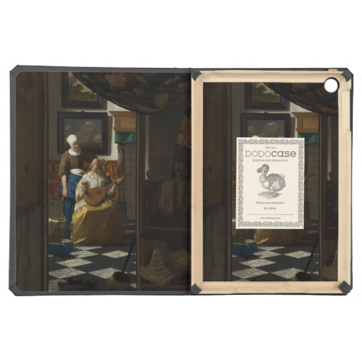 The Love Letter by Johannes Vermeer Cover For iPad Air