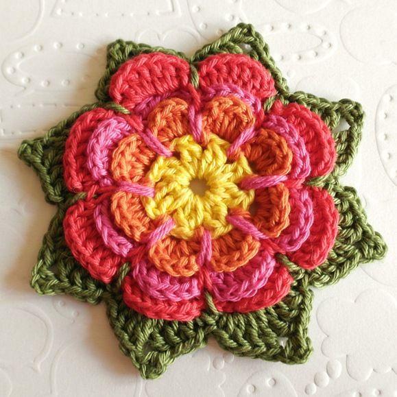 Top 10 DIY Crochet Ideas | Ganchillo, Flor y Patrones