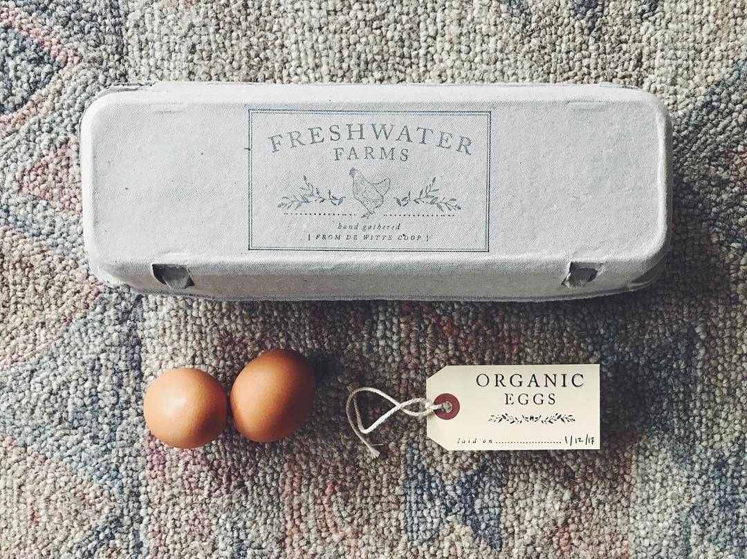 egg carton stamp design by substation paperie for farm fresh