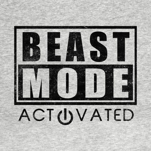 Check Out This Awesome Beast Mode Activated Gym Fitness