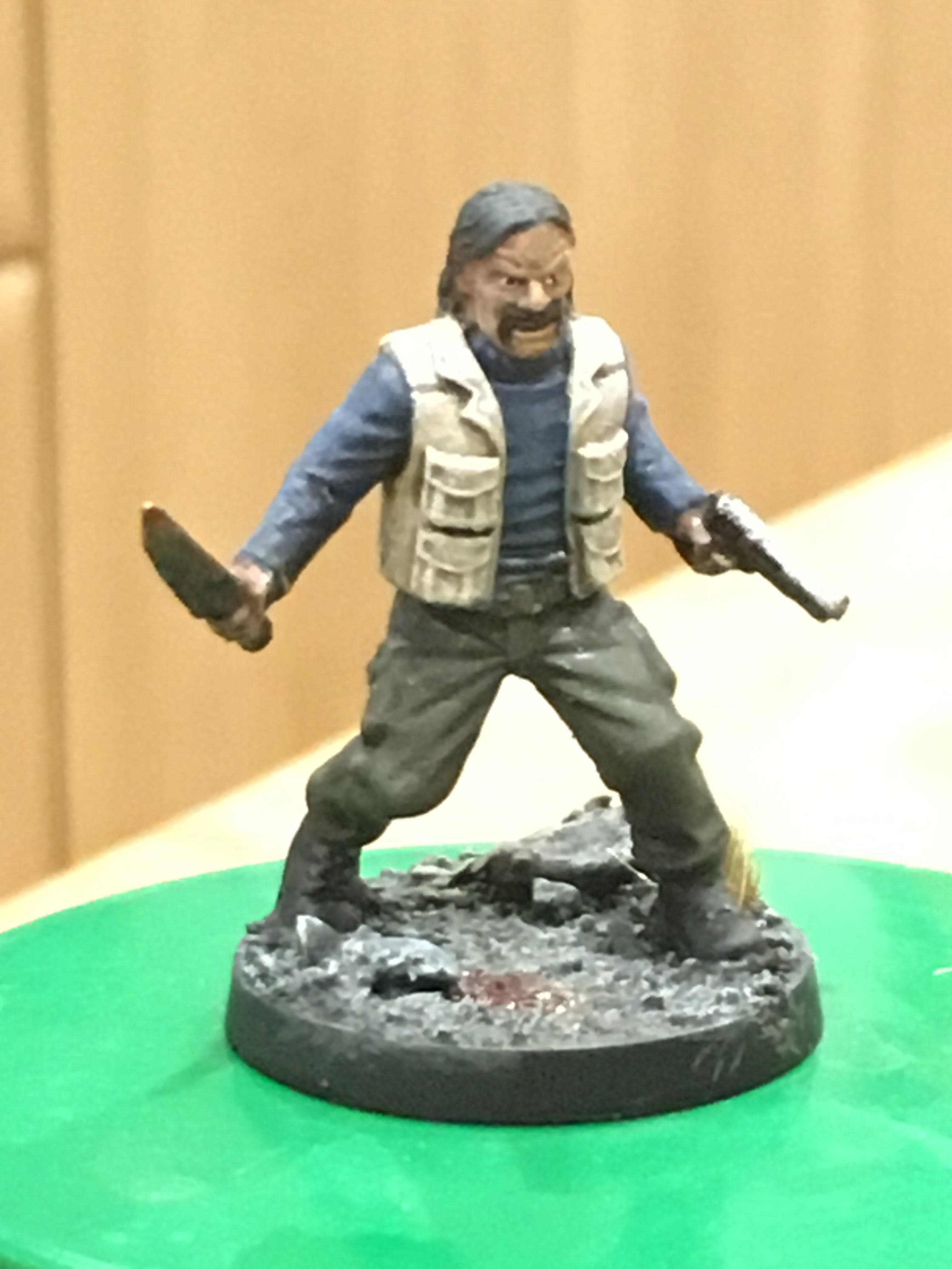 The Walking Dead All out War Miniatures Game Booster Brand New ~ Carol