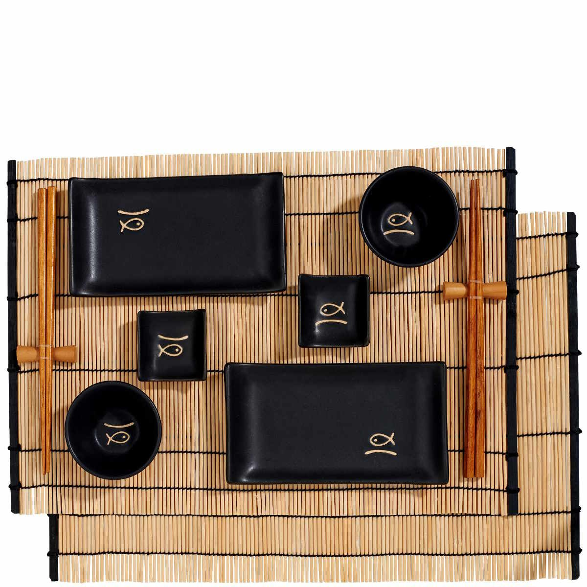 Asiatische Küchenutensilien sushi set 12 tlg sushi sushi set and kitchen stuff