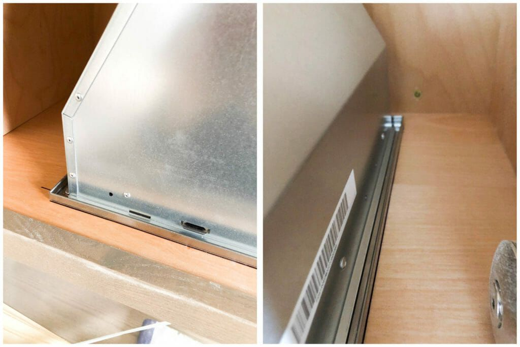 How to install a hidden range hood in your kitchen in 2021