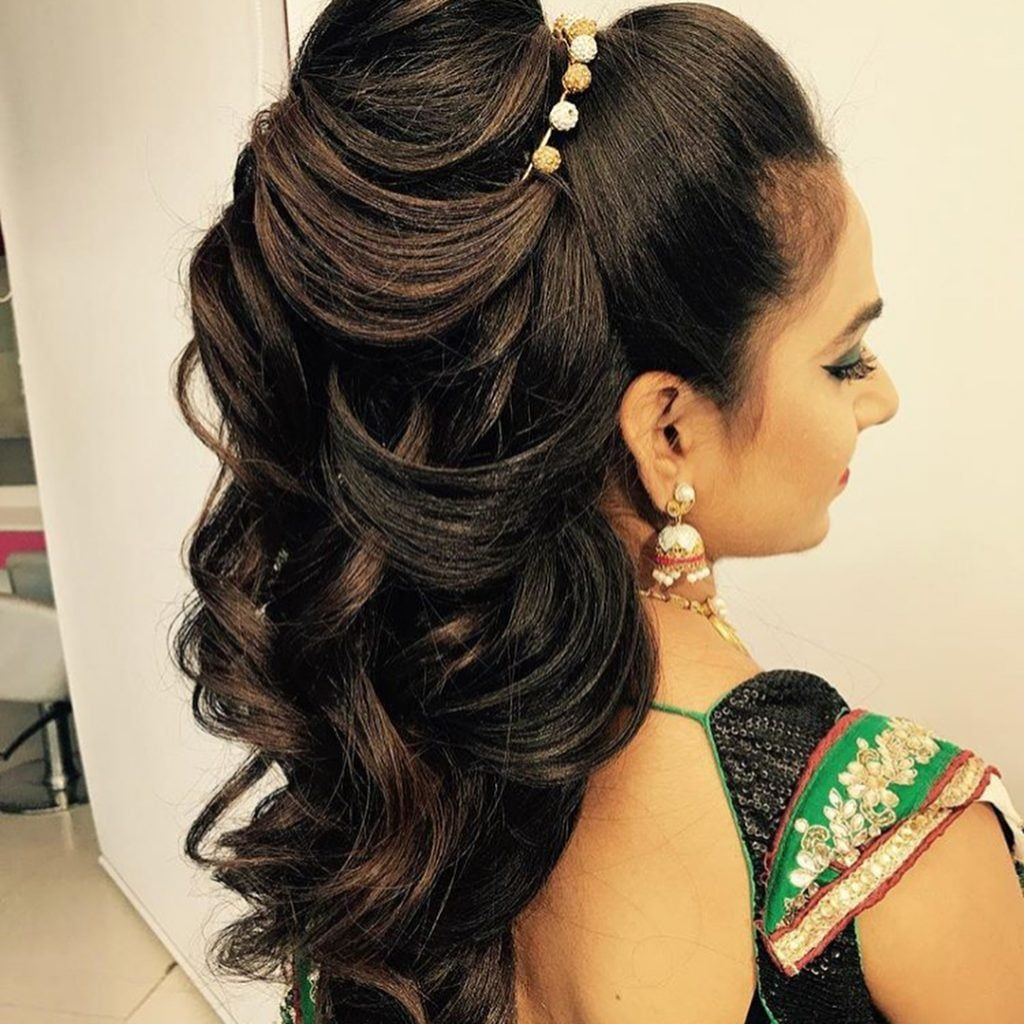 Hairstyles For Wedding Girl Indian Hair Styles Wedding Hair Accessories Vintage Bridesmaid Hair Long
