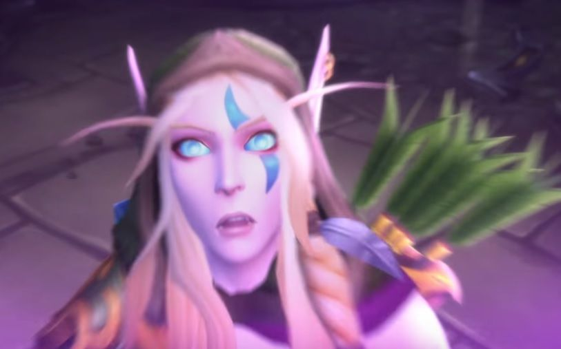 Alleria Windrunner. Honestly that expression.