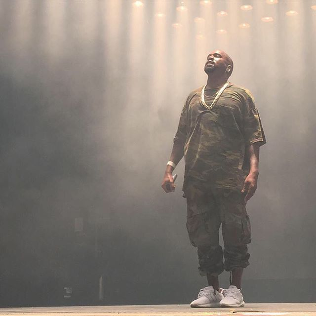 81d1bb7d0d847 Kanye West wearing the  White  adidas Ultra Boost