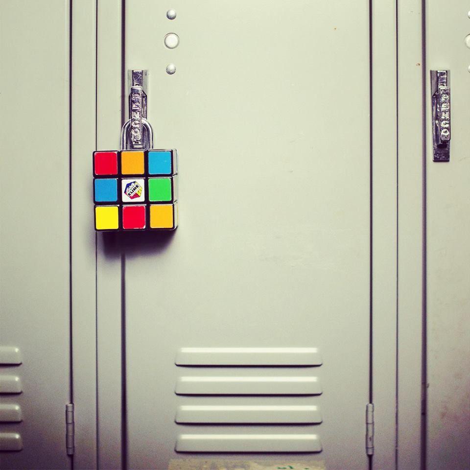 Perfect #rubiku0027s Cube #cube #locker #colours #professionalcube