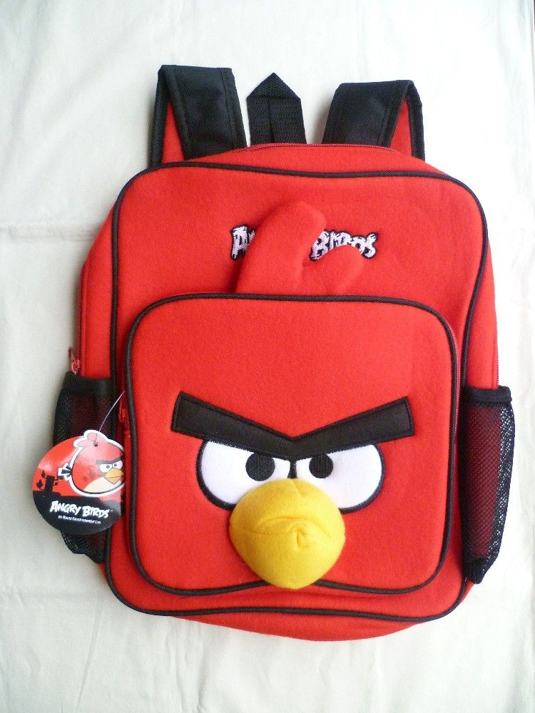 835ba62bed47 Cute Angry Birds Backpack