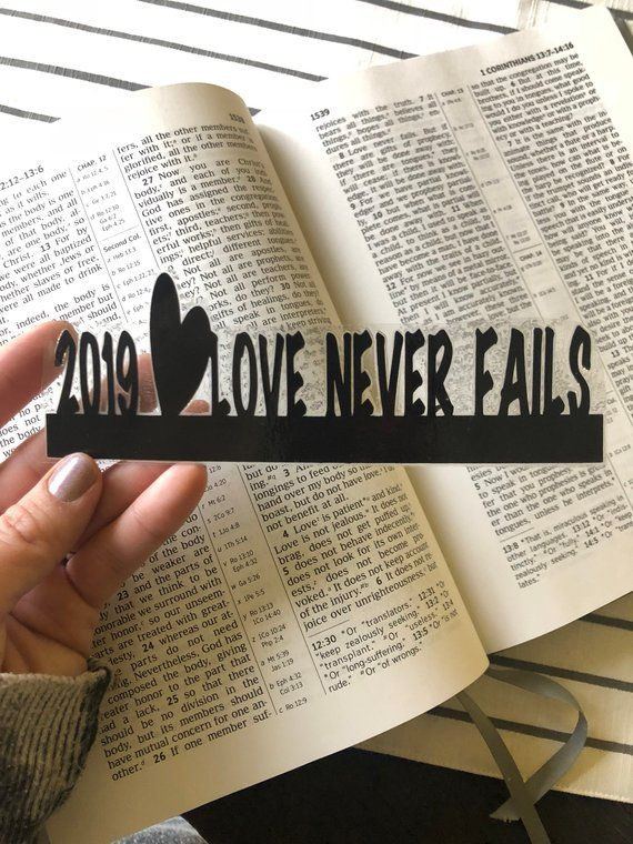 2019 Love Never Fails bookmarks for International conventions  2019