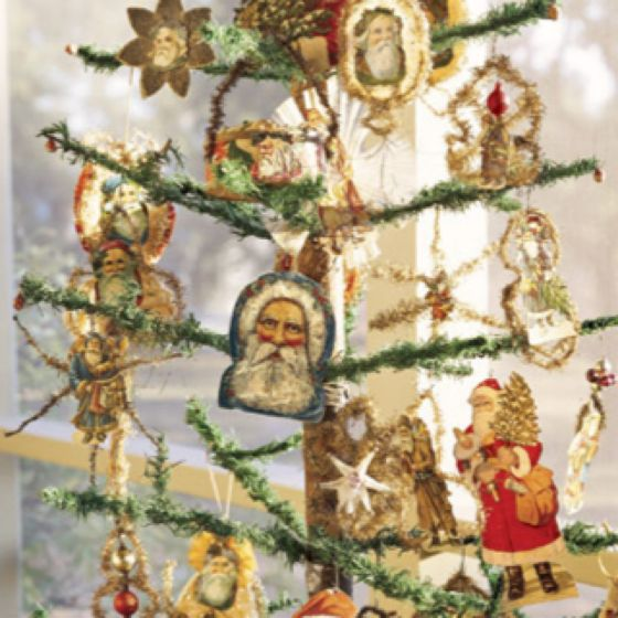 Victorian Father Christmas Decorations: Pin By Audrey Miller On Antique Victorian Ornaments
