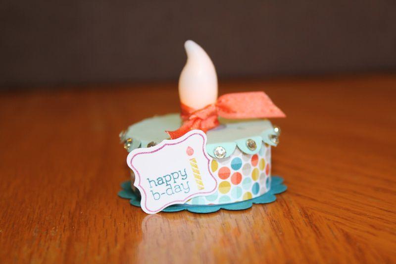cake tea light, cute