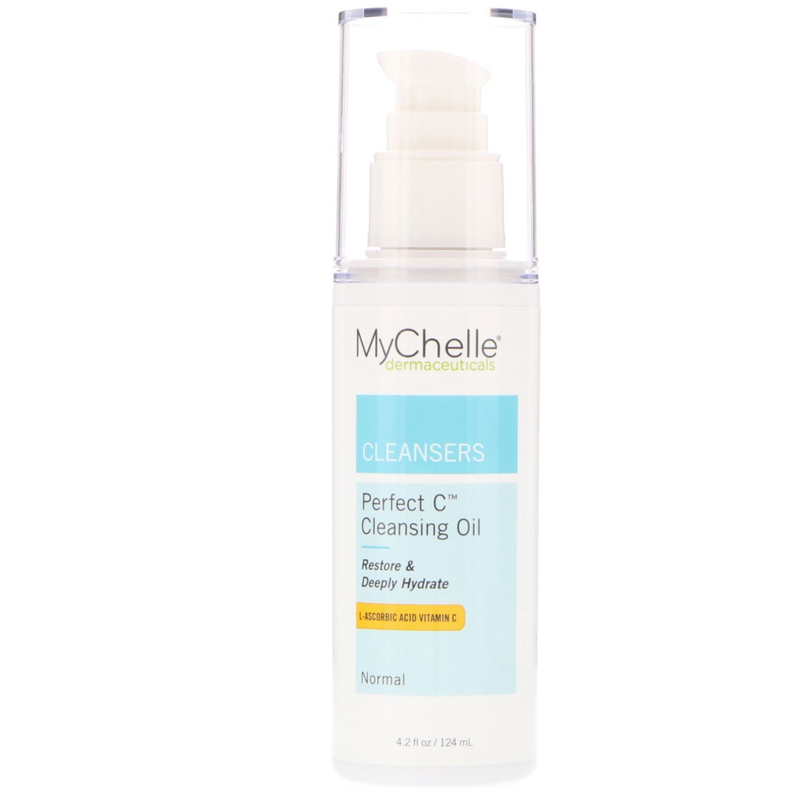 Mychelle Dermaceuticals Perfect C Cleansing Oil Normal 42 Fl Oz Pureheals Propolis 80 Cream 50ml