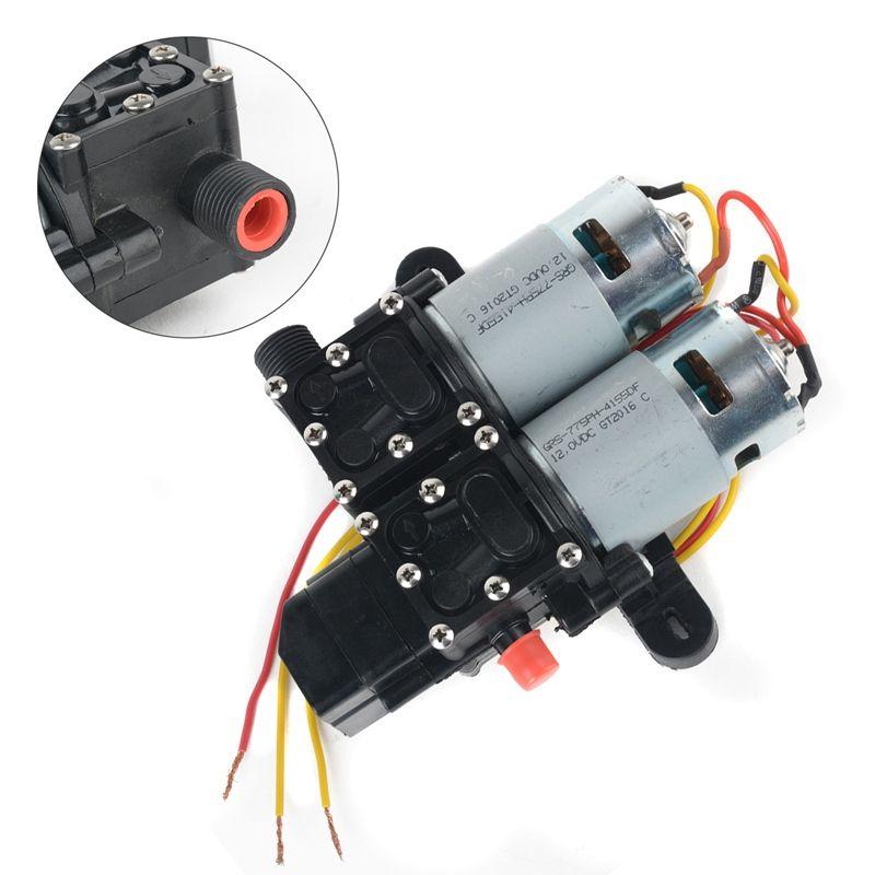 New Dc 12v High Pressure Diaphragm Car Water Pump Mayitr Automatic Diaphragm Hydraulic Pump Washer Self Priming Pump Car Water Pump Water Pumps Hydraulic Pump