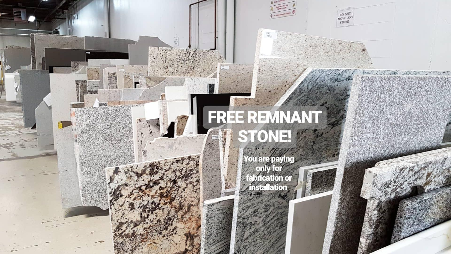 Free Remnant Stone Remnants Are Large Enough To Be Used For Smaller Projects Such As Bathroom Vanitie Granite Quartz Countertops Marble Quartz Marble Granite