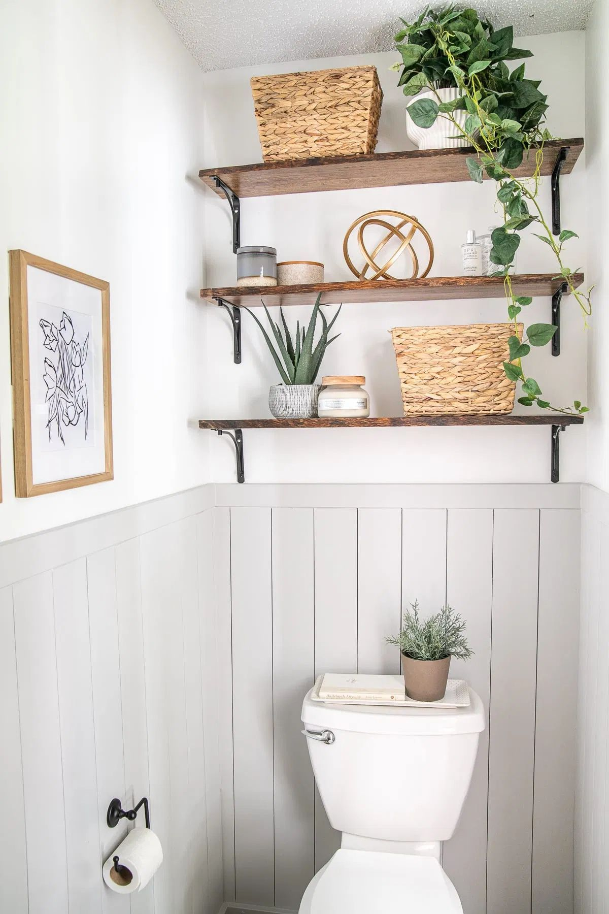Photo of California Casual Powder Room Reveal – Bless'er House