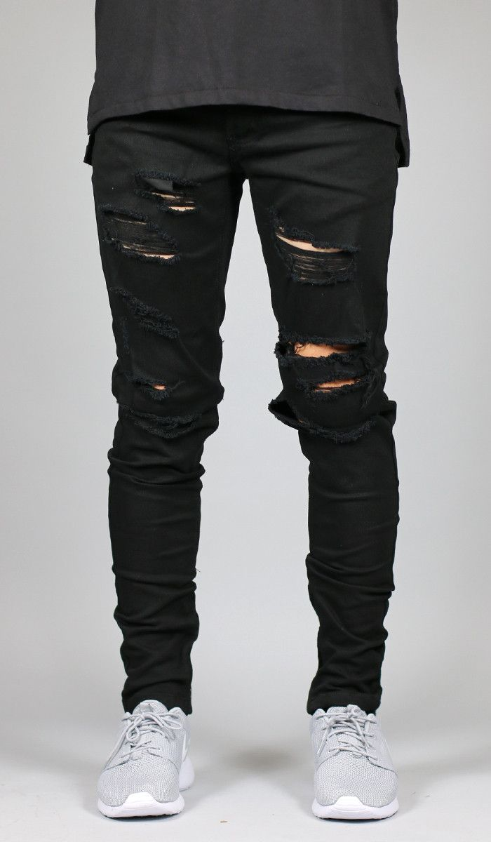 ff972f3203dd Destroyed Jeans · Streetwear Fashion · Jean Outfits · 170 Lbs · Fit   Slim  Tapered Leg If you are looking for a looser fit we suggest one