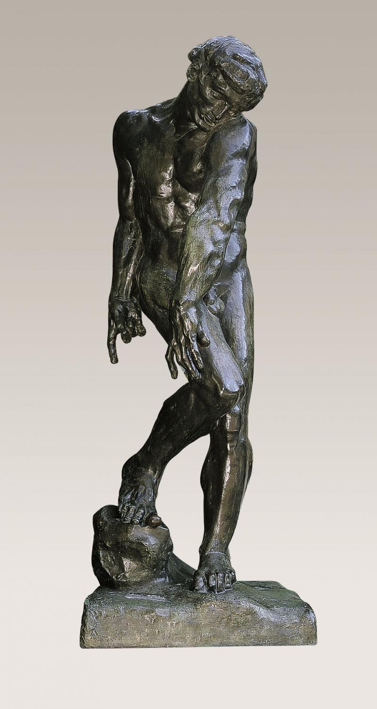 Auguste Rodin Adam Sculpture