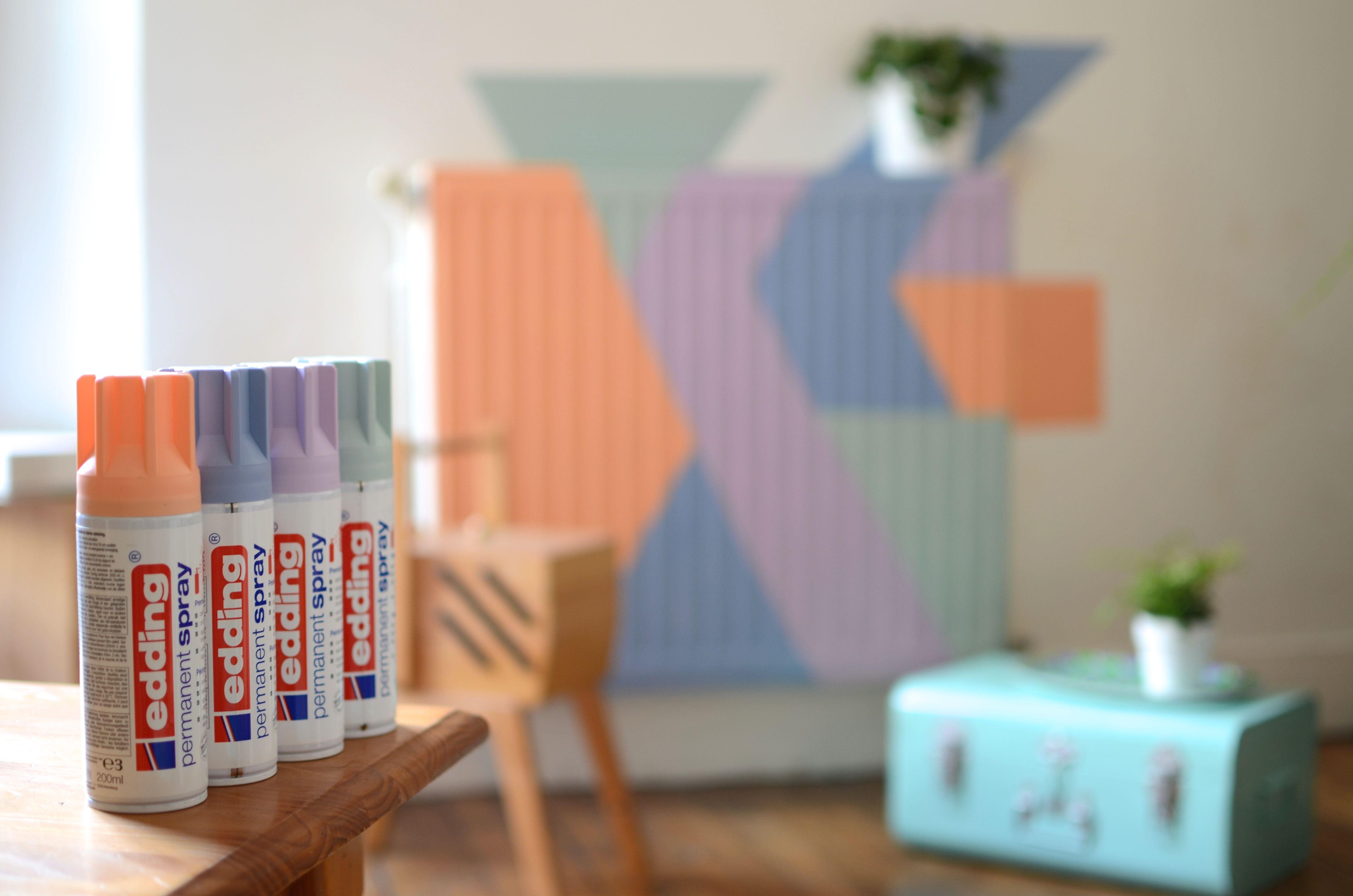 upcycling - ideas - diy - decor - easy - creative - edding spray