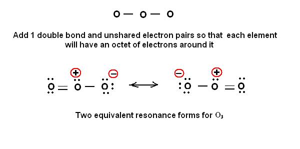 o3 lewis dot diagram simple method for writing lewis structures     ozone o3 and  lewis structures     ozone o3