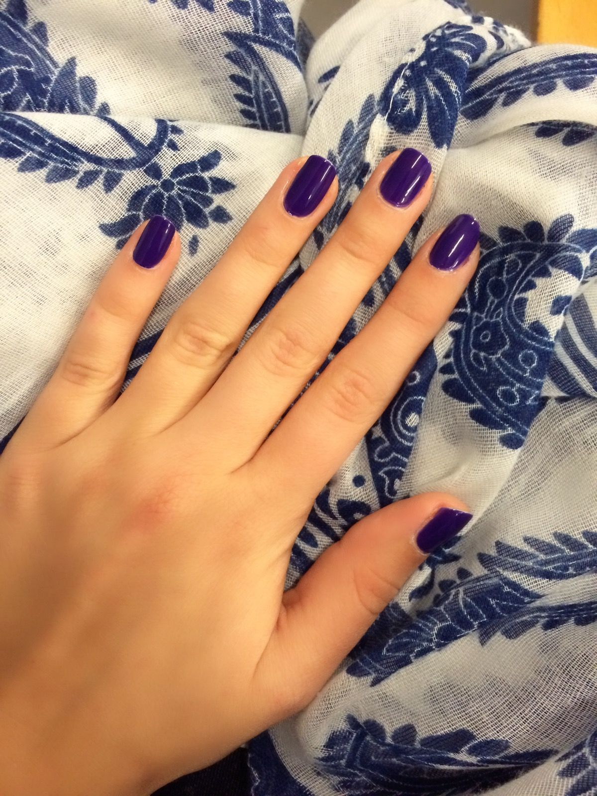 Wonderful purple nails perfect for autumn 💅🍃🍂