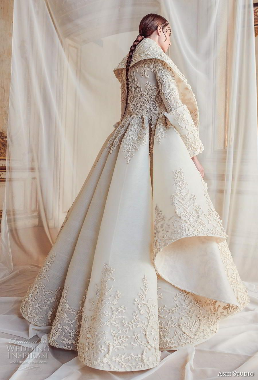 Ashi studio fallwinter couture collection in