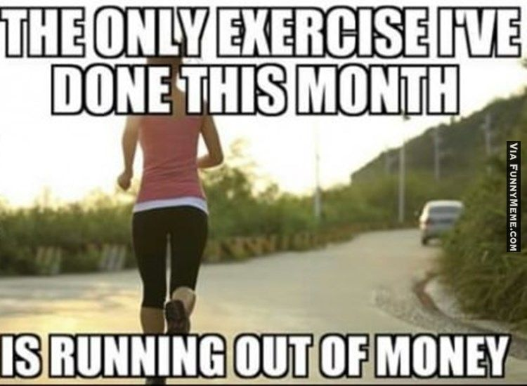 Funny Memes Exercise Is Exercise Workout Memes Funny Memes About Work Workout Memes Funny