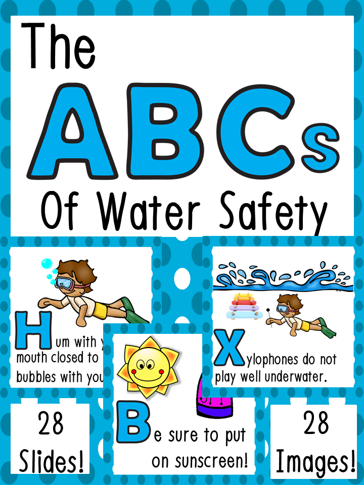 Water Safety ABCs Water safety, Water safety activities