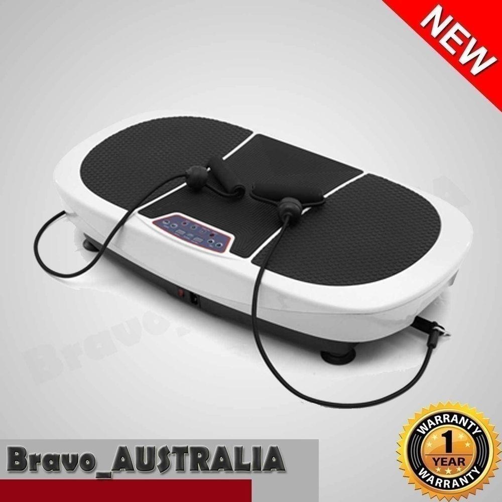 e9ff895bd1 400W Vibration Machine Platform Plate Trainer Body Fitness Massager 2 Motor